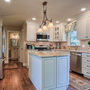 High Quality Project Profile: A 1990s Kitchen Makeover · EGStoltzfus Remodeling Logo